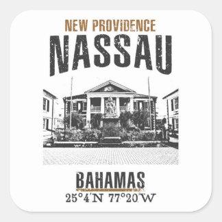Sticker Carré Nassau