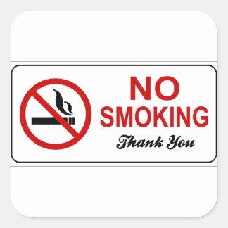 Sticker Carré non-fumeurs