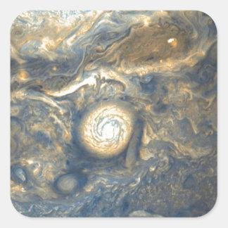 Sticker Carré Nuages de Jupiter