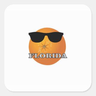 Sticker Carré nuances de la Floride