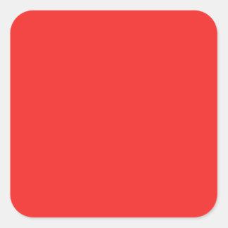 Sticker Carré Nuances POURPRES ROSES ROUGES simples