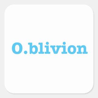 Sticker Carré O.blivion