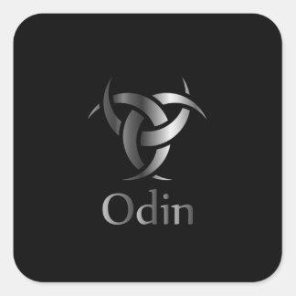Sticker Carré Odin- le graphique est un symbole des klaxons