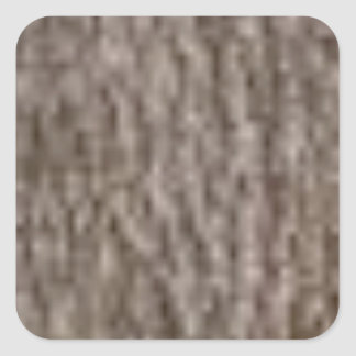 Sticker Carré ondulations de l'écorce blanche