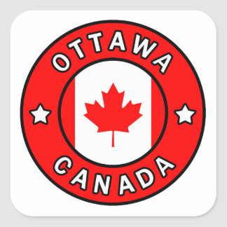 Sticker Carré Ottawa Canada