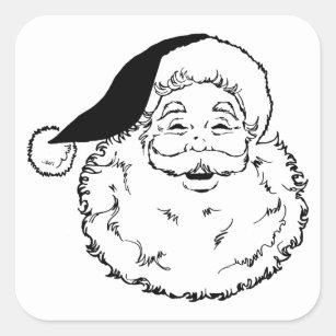Cadeaux Père Noël Vintage Noir Et Blanc Zazzlefr
