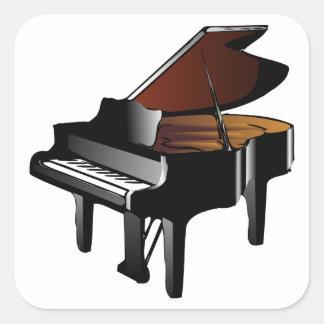 Sticker Carré Piano