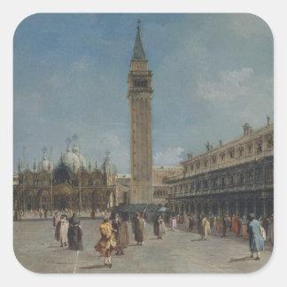 Sticker Carré Piazza San Marco