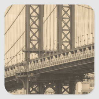 Sticker Carré Pont de Manhattan