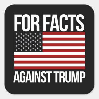 Sticker Carré Pour des faits contre l'atout - - la Pro-Science