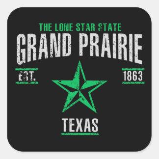 Sticker Carré Prairie grande