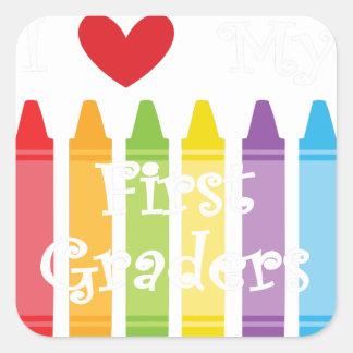 Sticker Carré première catégorie teacher2