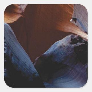 Sticker Carré profondeur des roches