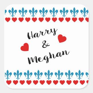Sticker Carré Quand Harry a rencontré Meghan