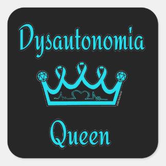 Sticker Carré Reine de dysautonomie