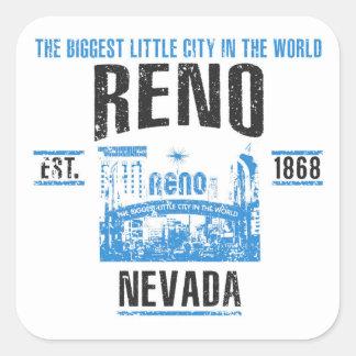 Sticker Carré Reno