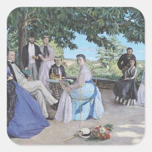 Sticker Carré Réunion de famille, 1867