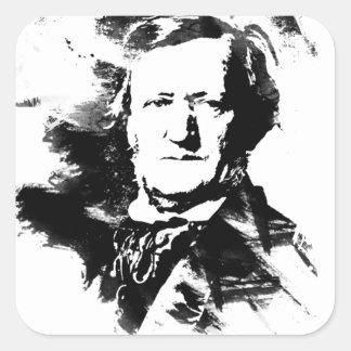 Sticker Carré Richard Wagner
