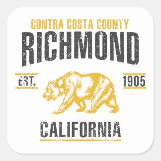 Sticker Carré Richmond