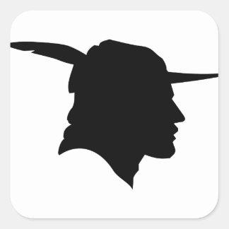Sticker Carré Robin Hood