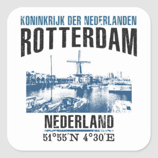 Sticker Carré Rotterdam