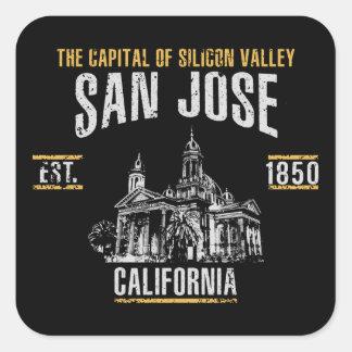 Sticker Carré San Jose