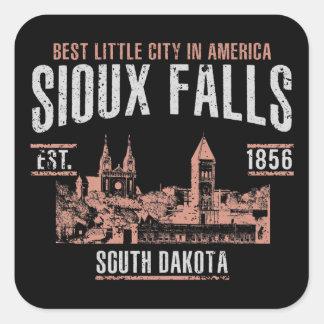 Sticker Carré Sioux Falls