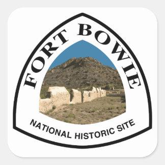 Sticker Carré Site historique national de Bowie de fort