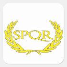 Sticker Carré SPQR Roma