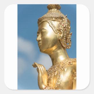 Sticker Carré Statue de Kinnorn, Bangkok