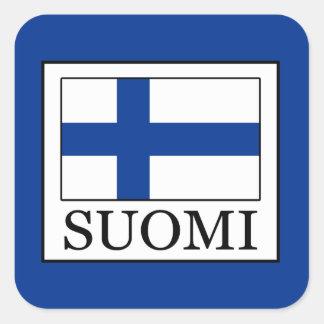 Sticker Carré Suomi