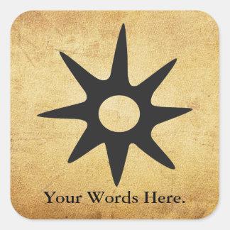 Sticker Carré Symbole de NSOROMMA | de tutelle
