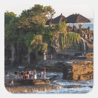 Sticker Carré Tanah-Sort Bali Indonésie