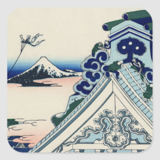Sticker Carré Temple d'Asakusa Honganji dans la capitale