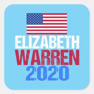 Sticker Carré Terriers 2020 d'Elizabeth