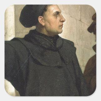 Sticker Carré Thèse de Martin Luther 95
