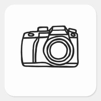 Sticker Carré Tir d'appareil-photo