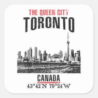 Sticker Carré Toronto