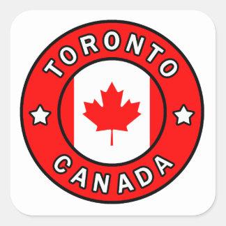 Sticker Carré Toronto Canada