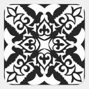 autocollants stickers tuiles marocaines. Black Bedroom Furniture Sets. Home Design Ideas