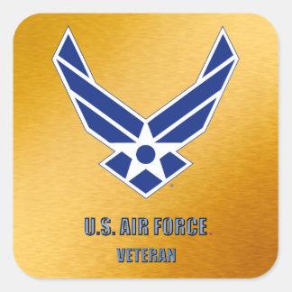 Sticker Carré U.S. L'Armée de l'Air retirée