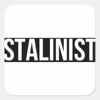 Sticker Carré Union Soviétique staliniste URSS CCCP de Josef