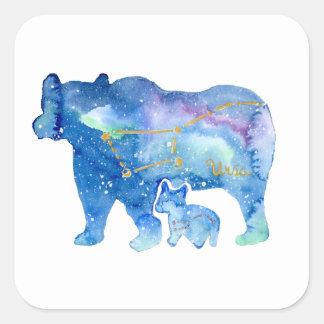 Sticker Carré Ursa