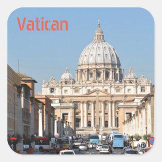 Sticker Carré Vatican, Rome, Italie