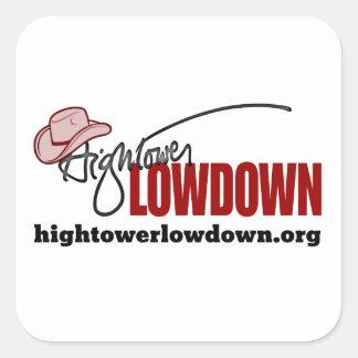 Sticker Carré Vérité de Hightower (autocollant)
