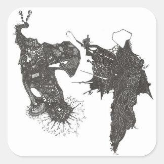 Sticker Carré Verseau contre Orion
