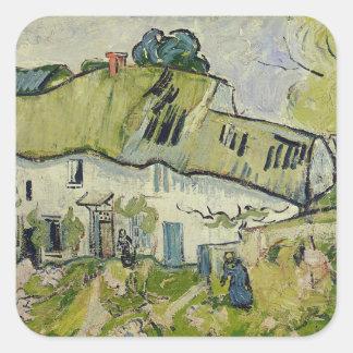 Sticker Carré Vincent van Gogh | la ferme en été, 1890