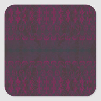 Sticker Carré violet