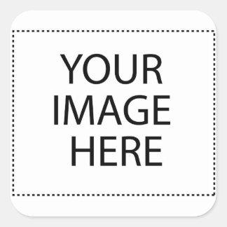 Sticker Carré Votre image ici