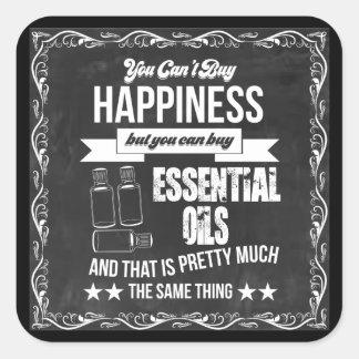 Sticker Carré Vous ne pouvez pas acheter le bonheur mais vous